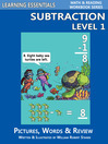 Subtraction Level 1 (eBook): Pictures, Words & Review