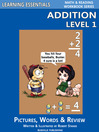 Addition Level 1 (eBook): Pictures, Words & Review