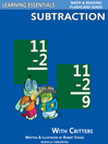 Subtraction Flashcards (eBook): Subtraction Facts with Critters