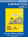 Subtraction Level 2 (eBook): Pictures, Words & Review