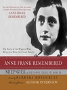 Anne Frank Remembered (MP3)