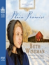 Plain Promise (MP3): Daughters of Promise Series, Book 3