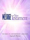 The Message Bible (MP3): New Testament