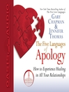 The Five Languages of Apology (MP3)