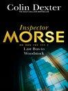 Last Bus to Woodstock (eBook): Inspector Morse Series, Book 1