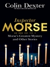 Morse's Greatest Mystery and Other Stories (eBook)