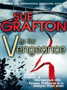 V is for Vengeance (eBook): Kinsey Millhone Series, Book 22