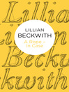 A Rope--In Case (eBook): Lillian Beckwith's Hebridean Tales Series, Book 3