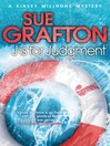 J is for Judgment (eBook): Kinsey Millhone Series, Book 10