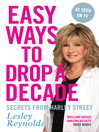 Easy Ways to Drop a Decade (eBook): Secrets from Harley Street