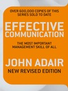 Effective Communication (eBook): The Most Important Management Skill of All