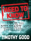 Need to Know (eBook): UFOs, the Military and Intelligence