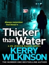 Thicker than Water (eBook): Jessica Daniel Series, Book 6