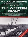 The Imperial War Museum Book of the Western Front (eBook)