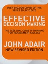 Effective Decision Making (eBook): The Essential Guide to Thinking for Management Success