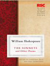 Sonnets and Other Poems (eBook)