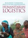 Humanitarian Logistics (eBook)