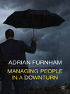Managing People in a Downturn (eBook)