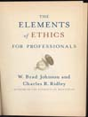 The Elements of Ethics (eBook): For Professionals