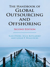 The Handbook of Global Outsourcing and Offshoring (eBook)