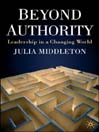 Beyond Authority (eBook): Leadership in a Changing World