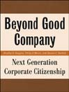 Beyond Good Company (eBook): Next Generation Corporate Citizenship