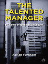 The Talented Manager (eBook): 67 Gems of Business Wisdom