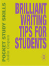 Brilliant Writing Tips for Students (MP3)