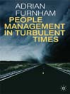 People Management in Turbulent Times (eBook)