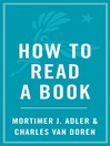 How to Read a Book (eBook)