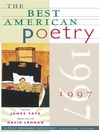 The Best American Poetry 1997 (eBook)