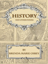 History and Other Poems (eBook)