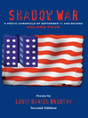 Shadow War (eBook): A Poetic Chronicle of September 11 and Beyond, Volume 4