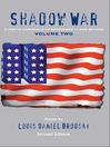 Shadow War (eBook): A Poetic Chronicle of September 11 and Beyond, Volume Two