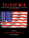 Shadow War (eBook): A Poetic Chronicle of September 11 and Beyond, Volume One