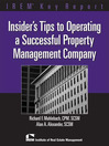 Insiders Tips to Operating a Successful Property Management Company (eBook)