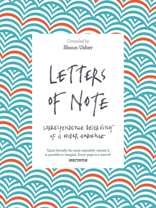 Letters of Note (eBook): Correspondence Deserving of a Wider Audience