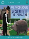 Uncle Fred in the Springtime (MP3)