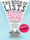 The Book of Lists (eBook): The Original Compendium of Curious Information