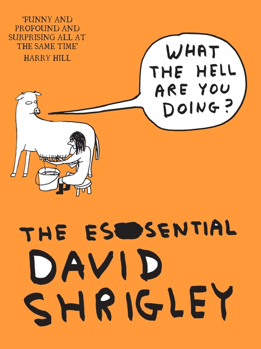 What the Hell are You Doing? (eBook): The Essential David Shrigley