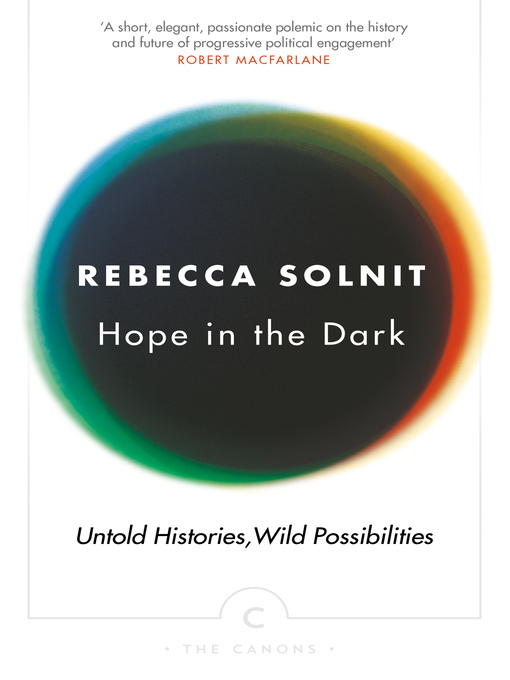 Hope in the Dark (eBook): The Untold History of People Power