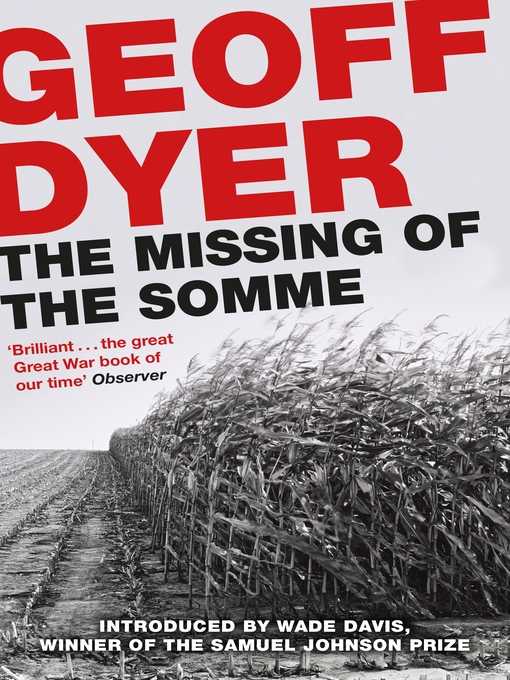 The Missing of the Somme (eBook)