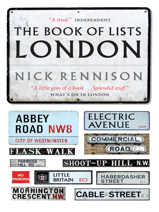 The Book of Lists London (eBook)