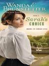 Sarah's Choice (eBook)