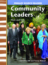 Community Leaders Then and Now (MP3)