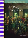 Early Congresses (MP3)