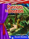 Patriots in Boston (MP3)