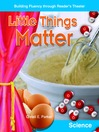 Little Things Matter (MP3)