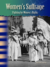 Women's Suffrage (MP3): Fighting for Women's Rights