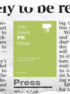 100 Great PR Ideas (eBook)